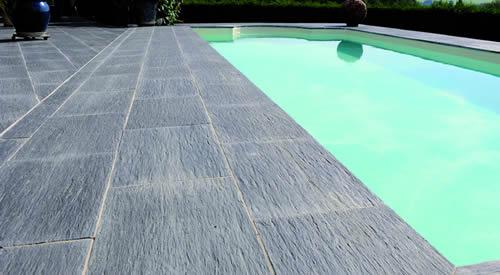 Exklusive Terrassenplatten Poolumrandungen