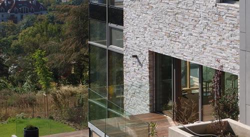 anwendungen verblendsteine monaco steinfassade silver. Black Bedroom Furniture Sets. Home Design Ideas